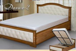 Кровать Дания-2 - Мебельная фабрика «Селена»