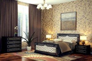 Кровать Дарина 2 мягкая - Мебельная фабрика «DM- darinamebel»