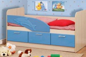 Кровать детская Дельфин 1 - Мебельная фабрика «Мебель Тек»