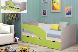 Кровать с ящиками ЛДСП Дельфин - Мебельная фабрика «ДиВа мебель»