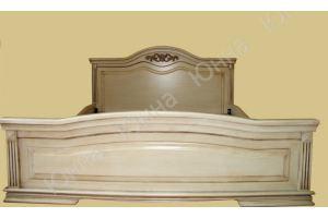 Кровать деревянная двуспальная - Мебельная фабрика «ЮННА»