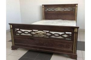 Кровать деревянная Лаура - Мебельная фабрика «Святогор Мебель»