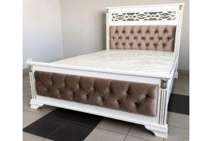 Кровать деревянная Мальта - Мебельная фабрика «Святогор Мебель»