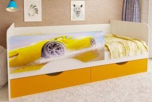 Кровать детская 1 - Мебельная фабрика «Рестайл»