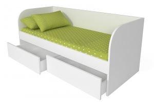 Кровать Софа Стандарт с 2 ящиками - Мебельная фабрика «БонусМебель»