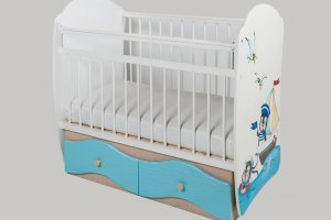 Кроватка детская № 5 Капитан - Мебельная фабрика «Сафаня»