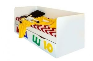 Кровать детская Абвгдейка - Мебельная фабрика «Мандарин»