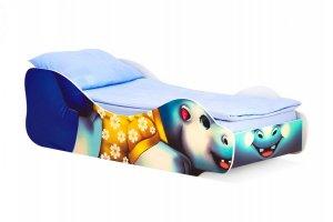 Кровать детская Бегемот-Мотя - Мебельная фабрика «Бельмарко»