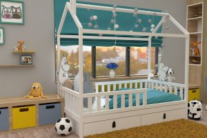 Кровать детская бук БК 06 - Мебельная фабрика «ВЭФ»