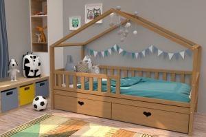 Кровать детская бук НК 01 - Мебельная фабрика «ВЭФ»