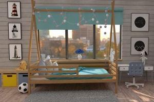 Кровать детская бук НК 15 - Мебельная фабрика «ВЭФ»