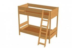 Кровать детская Чердак двухместная - Мебельная фабрика «Упоровская мебельная фабрика»