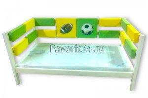 Кровать детская для мальчика - Мебельная фабрика «Фаворит»