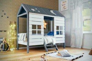Кровать детская Домик у моря - Мебельная фабрика «Mom'sLove»