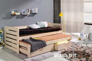 Кровать детская Дуэт - Мебельная фабрика «Diles»