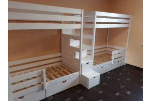 Кровать детская двухъярусная - Мебельная фабрика «Жемчуг»
