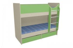 Кровать детская двухъярусная 3 - Мебельная фабрика «Мебель от Михаила»
