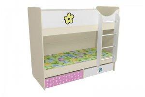 Кровать детская двухъярусная Л - Мебельная фабрика «Мебель от Михаила»