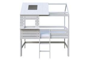 Кровать детская двухъярусная Модель 22 - Мебельная фабрика «DOMUS MIA»