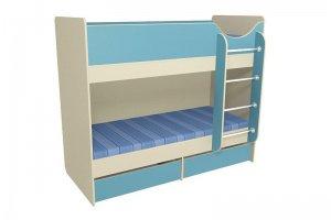 Кровать детская двухъярусная В - Мебельная фабрика «Мебель от Михаила»