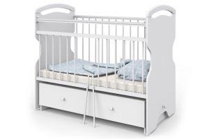 Кровать детская Эльза белая - Мебельная фабрика «Атон-мебель»
