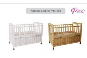 Кровать детская Фея 408 - Мебельная фабрика «Воткинская промышленная компания»
