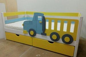 Кровать детская Грузовичок - Мебельная фабрика «Кроваткин18»