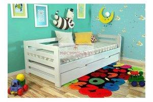 Кровать детская из дерева Мила 2 - Мебельная фабрика «МуромМебель (ИП Баранихина Г.И.)»