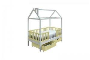 Кровать детская из массива - Мебельная фабрика «ЛИЯ Мебель»