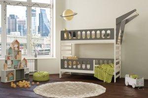 Кровать детская Jimmy Loft Alfa - Мебельная фабрика «DOMUS MIA»