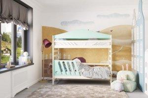 Кровать детская Jimmy Nature Alfa - Мебельная фабрика «DOMUS MIA»