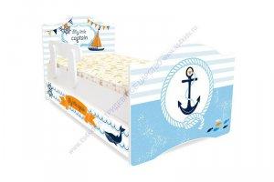Кровать детская Капитан - Мебельная фабрика «Тридевятое царство»