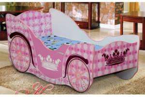 Кровать детская Карета-1 - Мебельная фабрика «Уютный Дом»