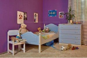 Кровать детская Кая К2 - Мебельная фабрика «Wood-Stock»