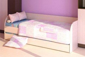 Кровать детская КД2 - Мебельная фабрика «ВикО Мебель»