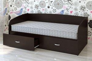 Кровать детская КР 04 с ящиками - Мебельная фабрика «Милайн»
