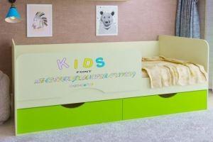 Кровать детская ЛДСП - Мебельная фабрика «Рестайл»