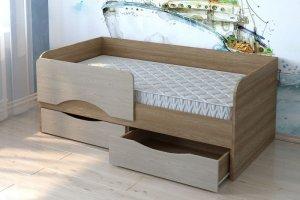 Кровать детская ЛДСП КР 05 - Мебельная фабрика «Милайн»