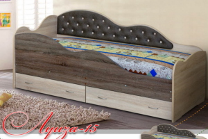Кровать детская Луиза-15 - Мебельная фабрика «Уютный Дом»