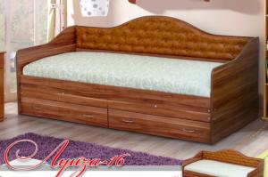 Кровать детская Луиза-16 - Мебельная фабрика «Уютный Дом»