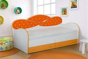 Кровать детская Луиза-17 - Мебельная фабрика «Уютный Дом»