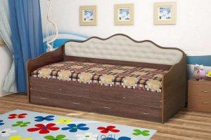 Кровать детская Луиза-3 - Мебельная фабрика «Уютный Дом»
