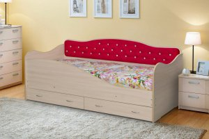 Кровать детская Луиза-7 - Мебельная фабрика «Уютный Дом», г. Ульяновск