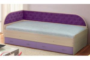 Кровать детская Луиза-9 - Мебельная фабрика «Уютный Дом»