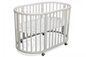 Кровать детская Луна белая - Мебельная фабрика «Феалта»
