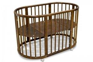 Кровать детская Луна орех - Мебельная фабрика «Феалта»