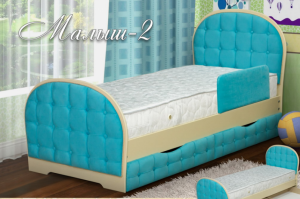 Кровать детская Малыш-2 - Мебельная фабрика «Селена»