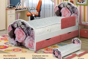 Кровать детская Малыш - Мебельная фабрика «Селена»