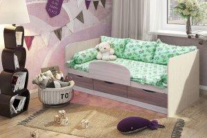 Кровать детская Малышок 3 - Мебельная фабрика «ВикО Мебель»