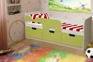 Кровать детская Малютка - Мебельная фабрика «Аристократ»